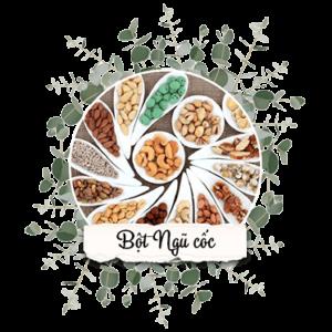 bột ngũ cốc 12 hạt Vườn Nhiên