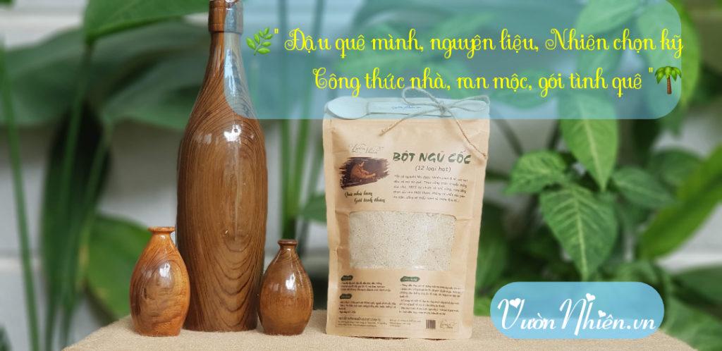 Bột ngũ cốc Vườn Nhiên đã có tại Hà Nội 3