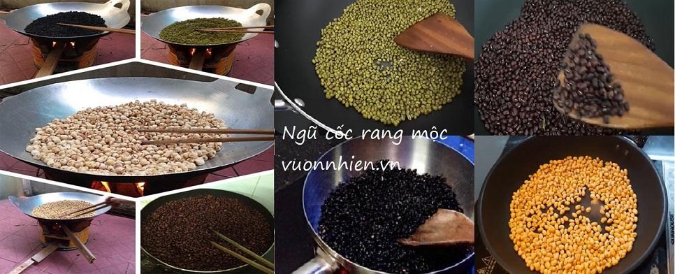 Bột ngũ cốc Đà Nẵng - Đậu quê, rang mộc 7