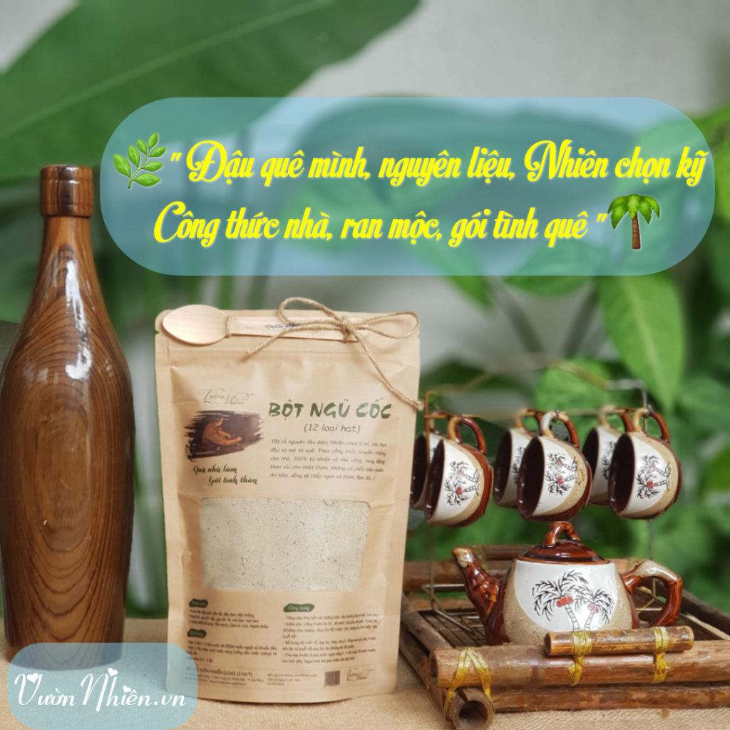 Xay bột ngũ cốc ở Đà Nẵng