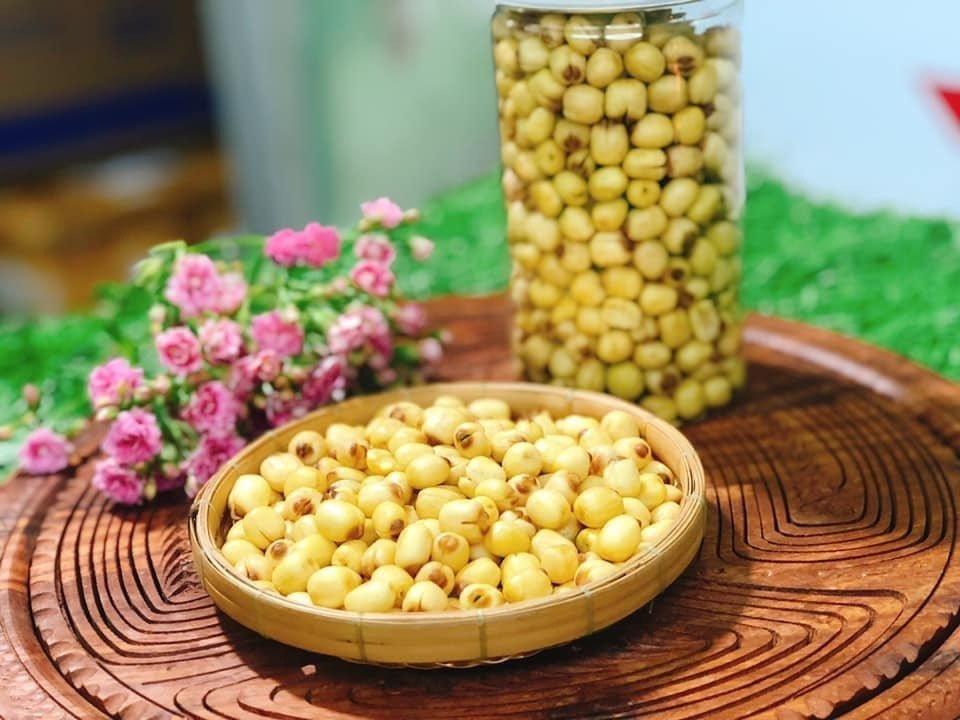 ăn hạt sen có tác dụng gì?